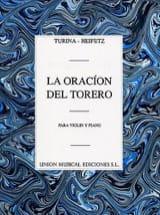 La oracion del torero – Violon piano - laflutedepan.com