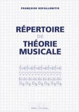 Répertoire de théorie musicale Françoise Kefallonitis laflutedepan.com