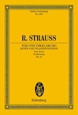 Tod und Verklärung, Opus 24 Richard Strauss Partition laflutedepan.com