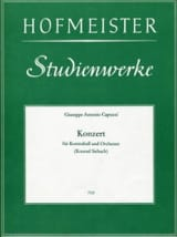 Giuseppe Antonio Capuzzi - Konzert - Kontrabass - Sheet Music - di-arezzo.com