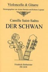 Le Cygne Camille Saint-Saëns Partition Duos - laflutedepan.com
