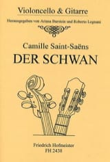 Camille Saint-Saëns - Le Cygne - Partition - di-arezzo.fr