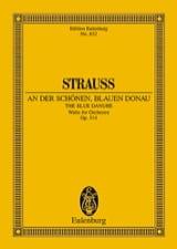Johann (Fils) Strauss - An der schönen blauen Donau op. 314 - Partition - di-arezzo.fr