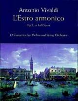 L' Estro Armonico Opus 3 VIVALDI Partition laflutedepan.com