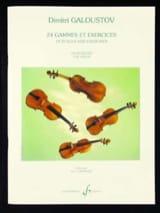 24 Gammes et Exercices - Dimitri Galoustov - laflutedepan.com