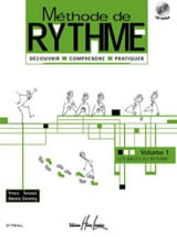 Teslar Yves / Gevrey Alexis - Méthode de Rythme Volume 1 - Partition - di-arezzo.fr