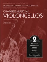 Chamber music for violoncellos - Volume 2 - Score + Parts laflutedepan