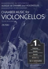 Chamber music for violoncellos – Volume 1 - Score + Parts - laflutedepan.com