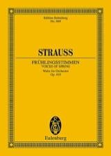 Johann (Fils) Strauss - Frühlingsstimmen op. 410 – Partitur - Partition - di-arezzo.fr