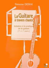 La Guitare à Travers Chants Simone Derai Partition laflutedepan.com