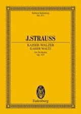 Johann (Fils) Strauss - Kaiserwalzer - Partition - di-arezzo.fr