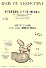 Dante Agostini - Rhythmic Solfege - Cahier N ° 5 - Sheet Music - di-arezzo.co.uk