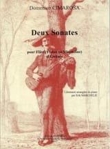 Domenico Cimarosa - 2 Sonates – Flûte et Guitare - Partition - di-arezzo.fr