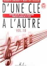D'Une Clé à l'Autre Volume 1 B - CD Inclus - laflutedepan.com
