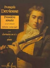 François Devienne - 1st Sonata In C Minor - Clarinet - Sheet Music - di-arezzo.com