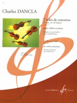DANCLA - Solo Concerto No. 2 op. 77 in G major - Sheet Music - di-arezzo.co.uk