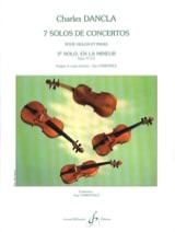 Solo de concerto n° 3 op. 77 en la mineur DANCLA laflutedepan.com