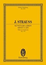 Johann (Fils) Strauss - Künstlerleben - Partition - di-arezzo.fr