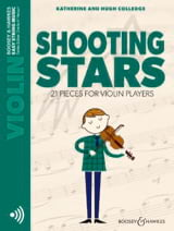 Shooting Stars – Violon et CD - Partition - laflutedepan.com
