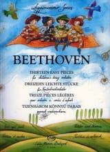 BEETHOVEN - 13 Pièces légères - Orchestre à cordes d'enfants - Partition - di-arezzo.fr