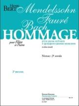 Henri Bert - Tribute of a young flutist ... - Volume 2 - Sheet Music - di-arezzo.com