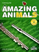Amazing Animals for Flute Colin Cowles Partition laflutedepan.com