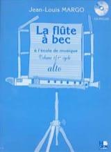 Jean-Louis Margo - La Flûte à Bec à l'École de Musique Volume 2 - Partitura - di-arezzo.it