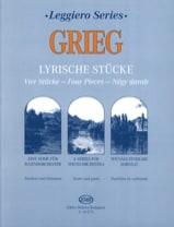 Lyrische Stücke - String orch. Edvard Grieg Partition laflutedepan.com