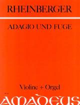 Adagio und Fugue Joseph Rheinberger Partition laflutedepan.com