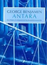Antara - Score George Benjamin Partition laflutedepan.com