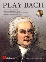 BACH - Play Bach - Flute - Sheet Music - di-arezzo.com