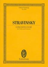 Concerto pour Violon en Ré M. (1931) - Conducteur laflutedepan.com