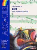Claude Pascal - Bleu - Partition - di-arezzo.fr