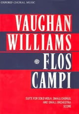 Flos Campi - Score WILLIAMS VAUGHAN Partition laflutedepan
