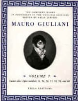 The Complete works for guitar - Volume 7 laflutedepan.com