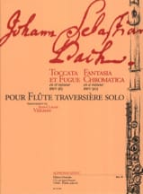 Toccata et fugue en ré min. BWV 565 / Fantasia chromatica en si min. BWV 903 laflutedepan.com