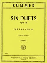 Friedrich-August Kummer - 6 Duos Op。156、Volume 1 - 楽譜 - di-arezzo.jp