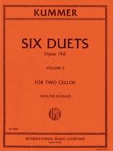 Friedrich-August Kummer - 6 Duos Op。156 Volume 2 - 楽譜 - di-arezzo.jp