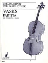 Partita Peteris Vasks Partition Violoncelle - laflutedepan.com