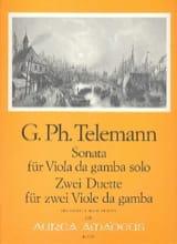 Georg Philipp Telemann - Sonate et 2 Duos - Partition - di-arezzo.fr