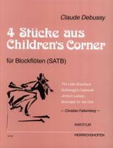 DEBUSSY - 4 Pièces extraites de Children's Corner - Partition - di-arezzo.fr