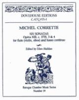 Michel Corrette - 6 Sonatas op. 13 n° 3-4 - Flute Bc - Partition - di-arezzo.fr