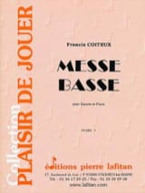 Francis Coiteux - Messe basse - Partition - di-arezzo.fr