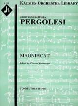 Giovanni Battista Pergolesi - Magnificat - Partitur - Sheet Music - di-arezzo.com