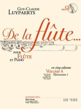 Guy-Claude Luypaerts - From the flute ... - Volume 4 - Sheet Music - di-arezzo.com