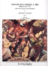 VIVALDI - Sonata da camera to be op. 1 - Book 2 No. 7-12 - Sheet Music - di-arezzo.co.uk