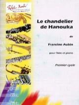 Le chandelier de Hanouka Francine Aubin Partition laflutedepan.com