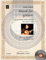 Musik Für Gitarre Karl Scheit Partition Guitare - laflutedepan