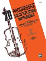 20 Progressive solos for string instruments – Violin - laflutedepan.com