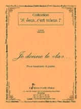 Pascal Proust - I give the La - Sheet Music - di-arezzo.co.uk